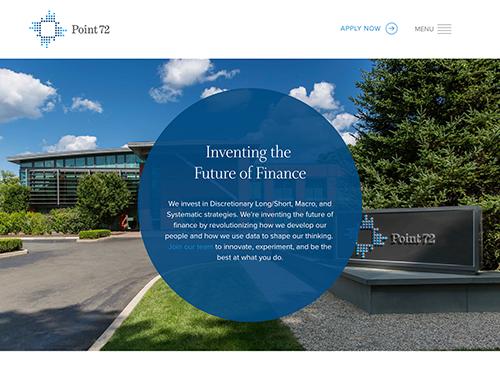 Point 72 Website Tablet Landscape