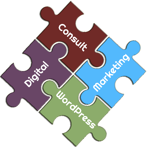 WordPress Consulting and Digital Marketing Puzzle Pieces