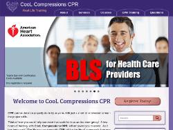 Cool Compressions CPR Website Tablet Landscape