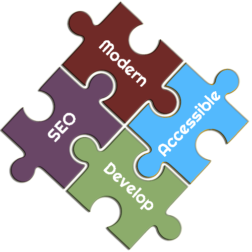 Develop Modern, Accessible and Technical SEO Optimized Puzzle Pieces