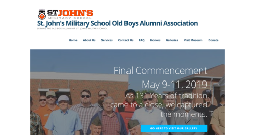 SJMS OBA Website Desktop