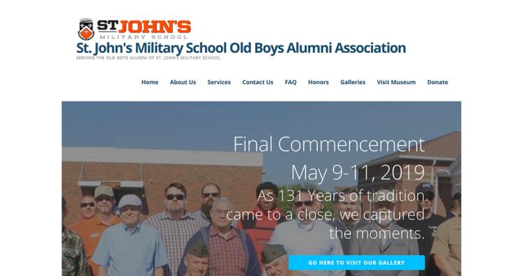 SJMS OBA Website Desktop