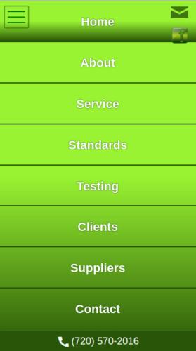Structured Plus Communications 2016 Website Mobile Menu