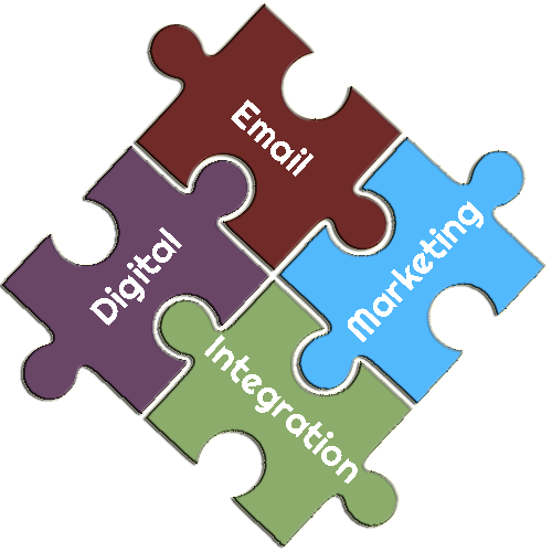 WordPress Digital Marketing Email Integration Puzzle Pieces