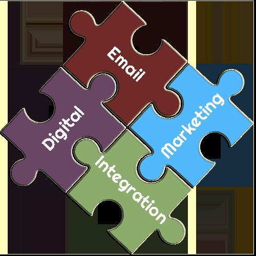 WordPress Digital Marketing Email Integration Puzzle Pieces
