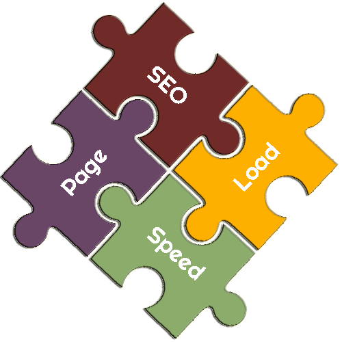 SEO Page Load Speed Puzzle Pieces